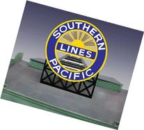 7072 Small Model Southern Pacific RR Animated & Lighted Sign