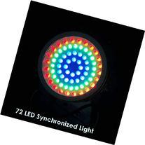 72 LED Synchronized Pond & Garden Light /multi-color/