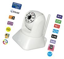 720p Wireless IP Camera Network Camera with Two-Way Audio