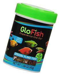 GloFish Special Flake Dry Fish Food for Brightness, 1.6 oz