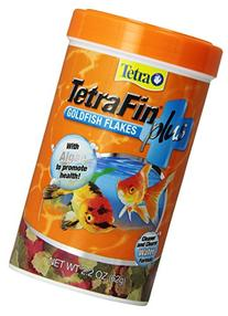Tetra 77246 TetraFin PLUS Goldfish Flakes, 2.20-Ounce, 375