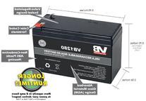 12V 7AH Sealed Lead Acid  Battery for 570 Portable Fish