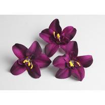 7cm/50pcs Thailand Orchids Silk Fabric Artificial Dendrobium