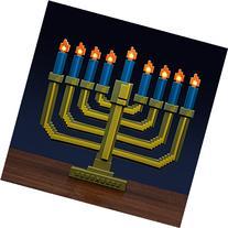 8-Bit Light-Up Menorah ThinkGeek Novelty Holiday Lamp