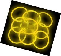 "8"" Lumistick Glowsticks Glow Stick Bracelets YELLOW"