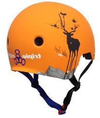 Triple 8 Brainsaver EPS Liner Mens Skate Helmet 2015