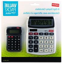 Staples? 8-Digit Display Calculator, Value Pack