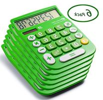 Office + Style 8 Digit Dual Powered Calculator with Large