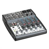 Behringer Premium 8-Input 2-Bus Mixer w/XENYX Mic Preamps &