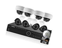 LaView 8 1080P IP Camera Security System 16 CH 1080P IP PoE