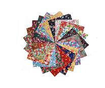 "80 5"" Among the Flowers Quilting Fabric Charm Pack"