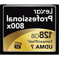 Lexar LCF128CRBNA800 Professional 800x 128GB VPG-20