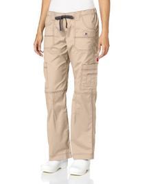 Dickies 857455 Youtility Women's Cargo Scrub Pant Khaki X-