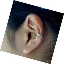 86)Simple Three Line Non Pierced Ear Cuff