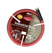 Apex 8695-25 Commercial All Rubber Hot Water Hose, Red, 5/8-