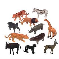 Get Ready 871 6 inch zoo animals- 8 piece