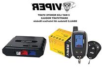 VIPER 875XV LCD Remote Start System w/ Keyless Entry and DBALL2 Bypass Module