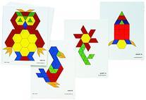 Learning Advantage 8837 Pattern Block Activity Cards