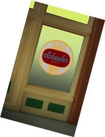 8925 Schaefer Beer Window Sign by Miller Signs