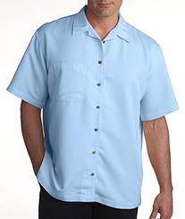 Ultraclub 8980 UC Solid Camp Shirt - Sage - M