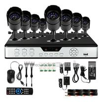 Zmodo PKD-DK0855-500GB 8-Channel DVR Security System with 8