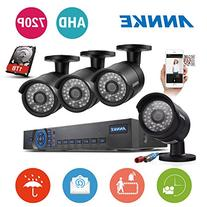 ANNKE 720P Security Camera System 1080N DVR Video Recorder