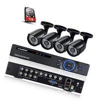 Floureon 8CH P2P Motion Detection Push Alerts AHD 1080N DVR