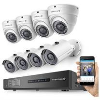 Amcrest 720P 8CH Tribrid  Video Security System - Eight 1.0