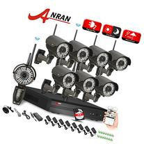 ANRAN 8CH 720P WIFI NVR HD 720P Home Security System with 8