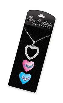 Dimension 9 Changeable Hearts Personalized Heart Pendant