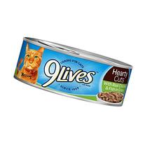 9Lives Hearty Cuts With Real Chicken & Fish In Gravy Wet Cat