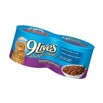 9 Lives Tender Carvings with Real Beef in Gravy 4-5.5 oz