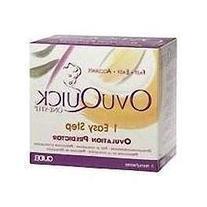 Vitrolife 9 test OVUQUICK 1 step Ovulation Predictor ref#