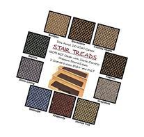 "9""x27"" Dog Assist Carpet Stair Treads - ZENITH II - Set of"