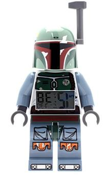 LEGO Star Wars Boba Fett Kids Minifigure Light Up Alarm