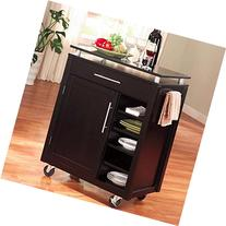 Coaster Home Furnishings 910012 Transitional Kitchen Cart,