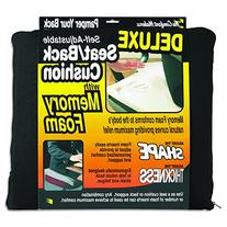 The ComfortMakers Deluxe Self-Adjustable Seat Back Cushion