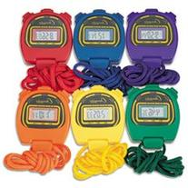 Champion Sports Water-Resistant Stopwatches, 1/100 Second,