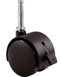 Shepherd Hardware 9406 2-Inch Office Chair Caster, Twin