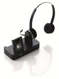 Jabra PRO 9465 Duo Wireless Headset with Touchscreen for