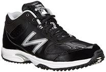 New Balance Men's Baseball Umpire Mid Baseball Shoe,Black/