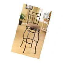ACME 96051 Set of 2 Tavio Swivel Bar Chair, 29-Inch