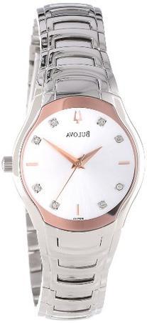 Bulova Women's 96P145 Diamond Dial Watch