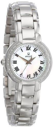 Bulova Women's 96R159 Classic Stainless Steel Diamond-