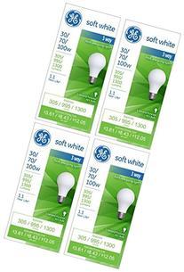 GE Lighting 97493 30-Watt - 70-Watt - 100-Watt A21 3-Way,