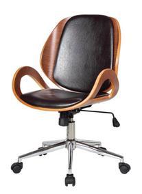 Boraam 97912 Mira Desk Chair, Brown