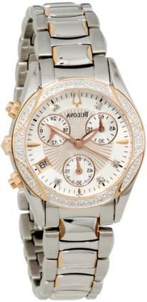 "Bulova Women's 98R149 ""Anabar"" Stainless Steel Watch"