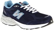 New Balance Women's W990 Heritage Running Shoe,Navy,6.5 D US