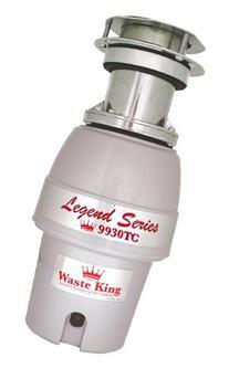 Waste King 9930TC Legend Series 1/2HP Batch Feed Operation