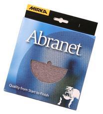 Mirka 9A-232-400RP 10 pieces. 5-Inch P400 Grit Abranet Discs